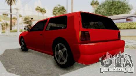 Flash Sport для GTA San Andreas вид сзади слева