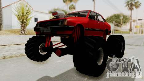 Chevrolet Chevette SL 1988 Monster Truck для GTA San Andreas