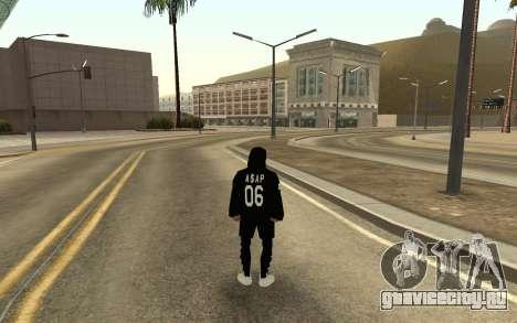 Новый бомж v4 для GTA San Andreas второй скриншот