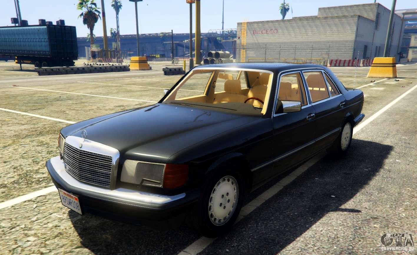 1987 mercedes benz 560sel gta 5 for Mercedes benz 560sel