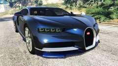 Bugatti Chiron для GTA 5