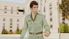 Scarface Tony Montana Army Costume