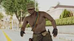 MGSV Phantom Pain Rogue Coyote Soldier Naked v2 для GTA San Andreas
