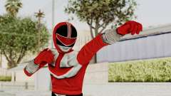 Power Rangers Time Force - Red для GTA San Andreas