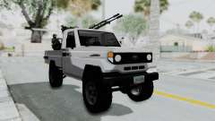 Toyota Land Cruiser Libyan Army для GTA San Andreas