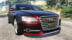 Audi S8 W12 2016