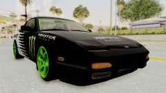Nissan 240SX Drift Monster Energy Falken