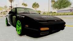 Nissan 240SX Drift Monster Energy Falken для GTA San Andreas