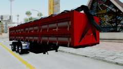 Kenworth T800 Carreta de Arena