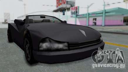 GTA 3 Cheetah Topless для GTA San Andreas