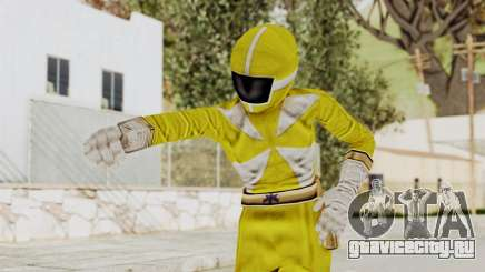 Power Rangers Lightspeed Rescue - Yellow для GTA San Andreas