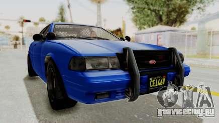 GTA 5 Vapid Stanier II Police Cruiser 2 для GTA San Andreas