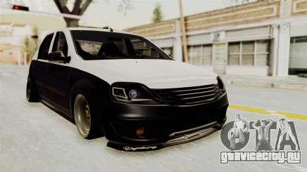 Dacia Logan Facelift Stance для GTA San Andreas