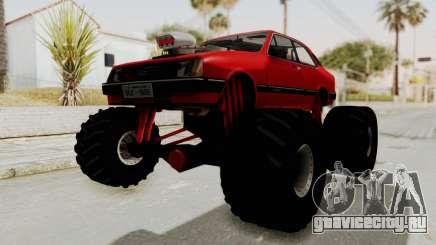 Chevrolet Chevette SL 1988 Monster Truck для GTA San Andreas