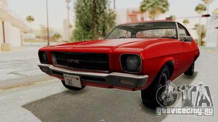 Holden Monaro GTS 1971 SA Plate HQLM для GTA San Andreas