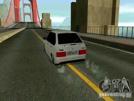 VAZ 2114 KBR для GTA San Andreas вид справа