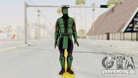 Mortal Kombat X Klassic Reptile для GTA San Andreas второй скриншот