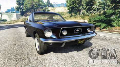 Ford Mustang 1968 v1.1 для GTA 5