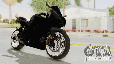Kawasaki Ninja 250RR Mono Sport для GTA San Andreas вид справа