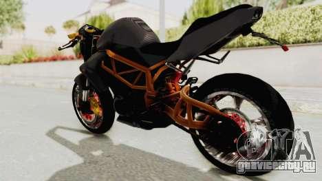 Kawasaki ER 6N Superbike для GTA San Andreas вид слева