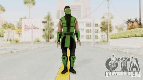 Mortal Kombat X Klassic Human Reptile для GTA San Andreas второй скриншот