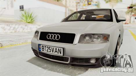 Audi A4 2002 Stock для GTA San Andreas