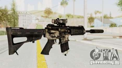 P416 Silenced для GTA San Andreas третий скриншот
