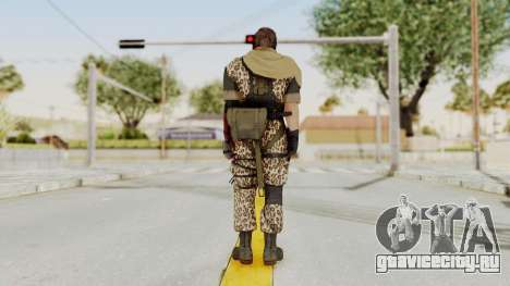 MGSV The Phantom Pain Venom Snake Scarf v8 для GTA San Andreas третий скриншот