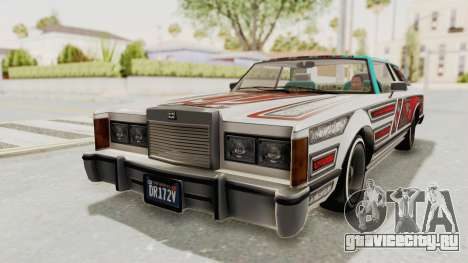 GTA 5 Dundreary Virgo Classic Custom v2 для GTA San Andreas вид сбоку