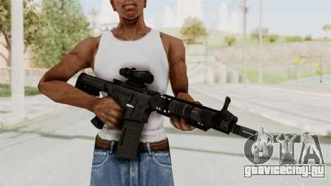 M4A1 SWAT для GTA San Andreas третий скриншот