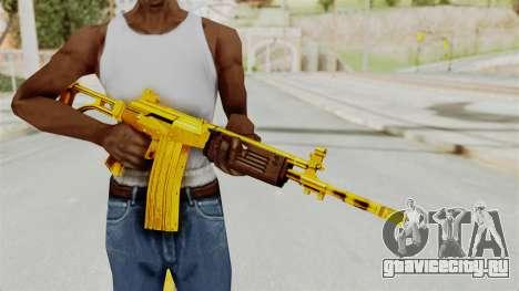 Galil Gold для GTA San Andreas третий скриншот