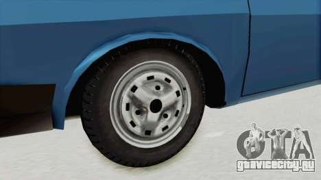Dacia 1310 MLS 1988 Stock для GTA San Andreas вид сзади