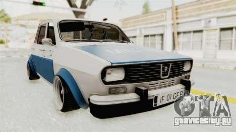 Dacia 1300 Stance Police для GTA San Andreas