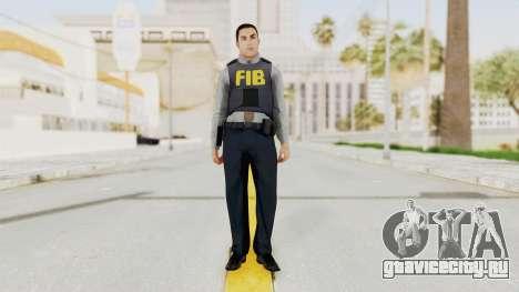 GTA 5 F.I.B. Ped для GTA San Andreas второй скриншот