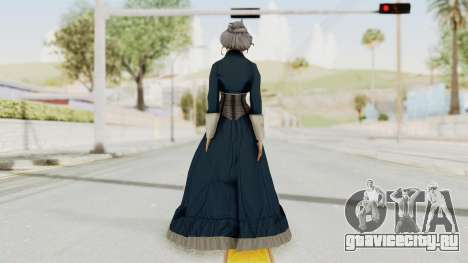 Bioshock Infinite Elizabeth Old для GTA San Andreas третий скриншот