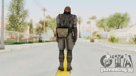 MGSV Phantom Pain Venom Snake Sneaking Suit для GTA San Andreas третий скриншот