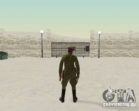 Пак бойцов красной армии для GTA San Andreas четвёртый скриншот