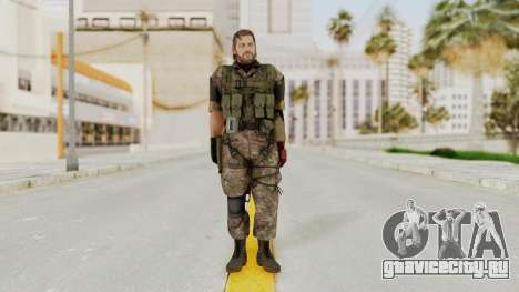 MGSV The Phantom Pain Venom Snake No Eyepatch v6 для GTA San Andreas второй скриншот