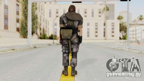 MGSV The Phantom Pain Venom Snake Scarf v7 для GTA San Andreas третий скриншот