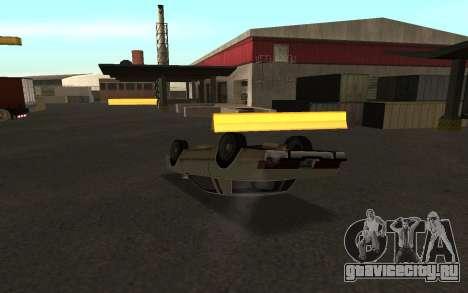 Переворот машины для GTA San Andreas третий скриншот