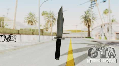 Liberty City Stories - Knife для GTA San Andreas второй скриншот