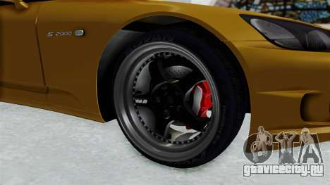 Honda S2000 S2K-AP1 для GTA San Andreas вид сзади