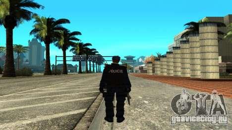 Police SWAT Skin for GTA San Andreas для GTA San Andreas третий скриншот