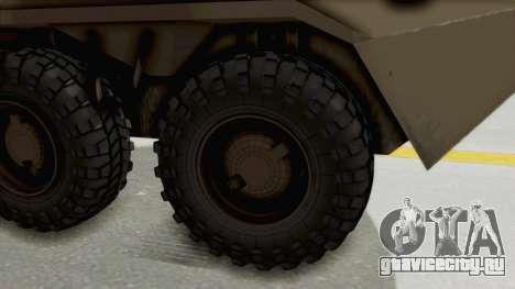 BTR-80 Desert Turkey для GTA San Andreas вид сзади