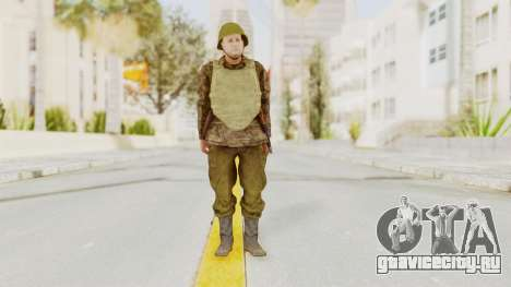 MGSV The Phantom Pain Soviet Union VH Sleeve v1 для GTA San Andreas второй скриншот
