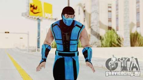 Mortal Kombat X Klassic Sub Zero UMK3 v1 для GTA San Andreas