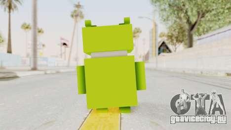 Crossy Road - Android Robot для GTA San Andreas третий скриншот