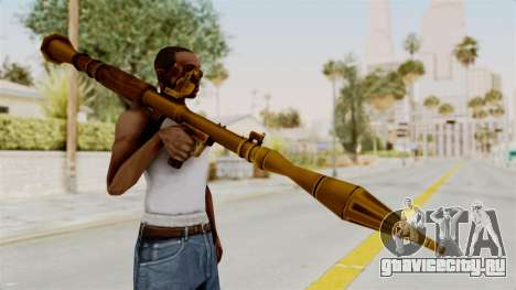 Rocket Launcher Gold для GTA San Andreas