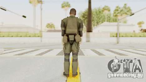 MGSV Ground Zeroes MSF Medic для GTA San Andreas третий скриншот