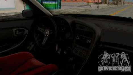 Toyota Celica GT Drift Falken для GTA San Andreas вид изнутри